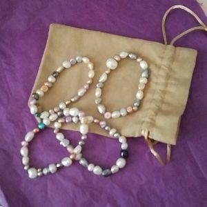 Splendid Freshwater Pearl Bracelets